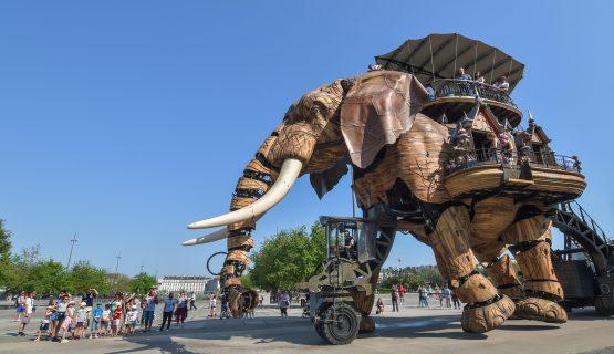 Éléphant mécanique de Nantes