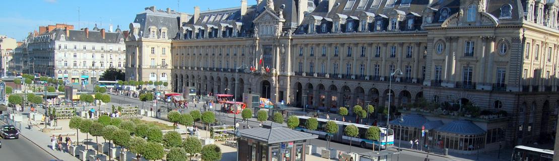 Place de la République à Rennes