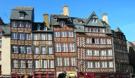 Place du Champ Jacquet à Rennes